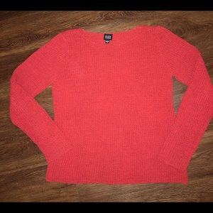 Eileen Fisher Open Knot crewneck pullover sweater